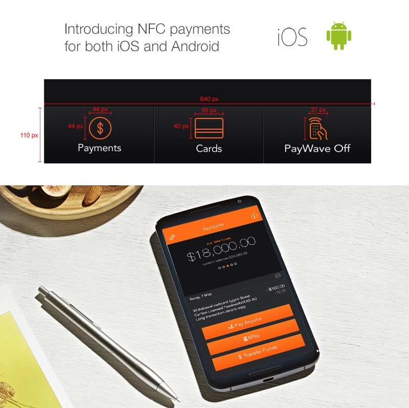 NFC Paywave iOS and Android