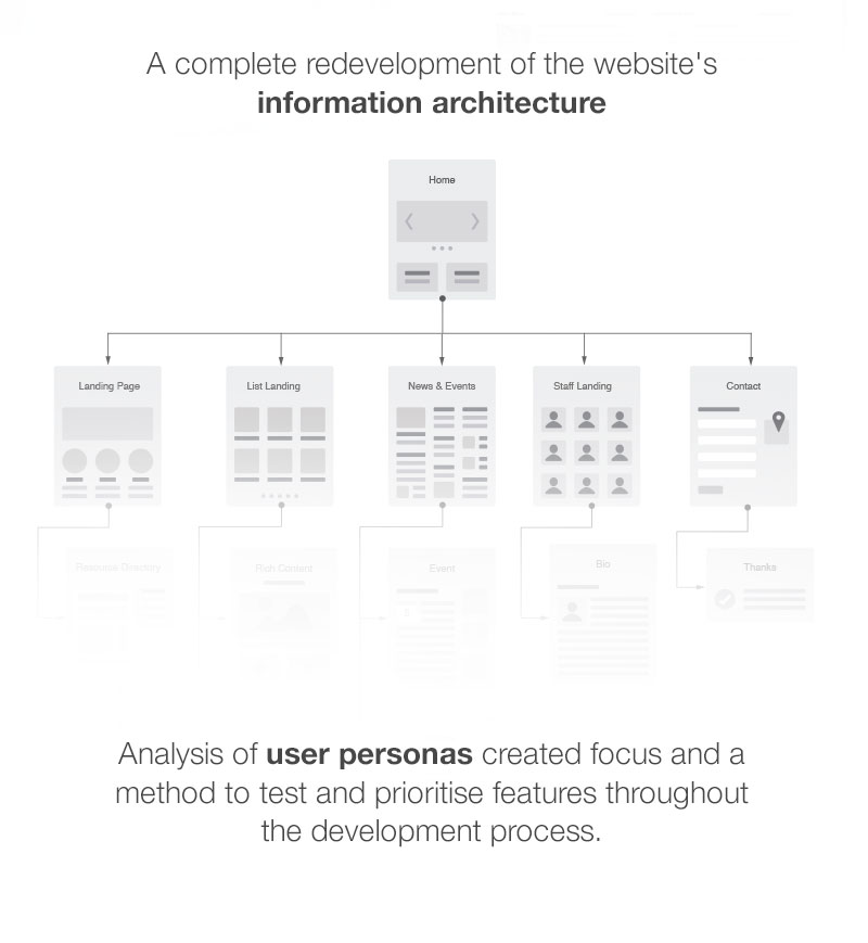 user personas and information architecture