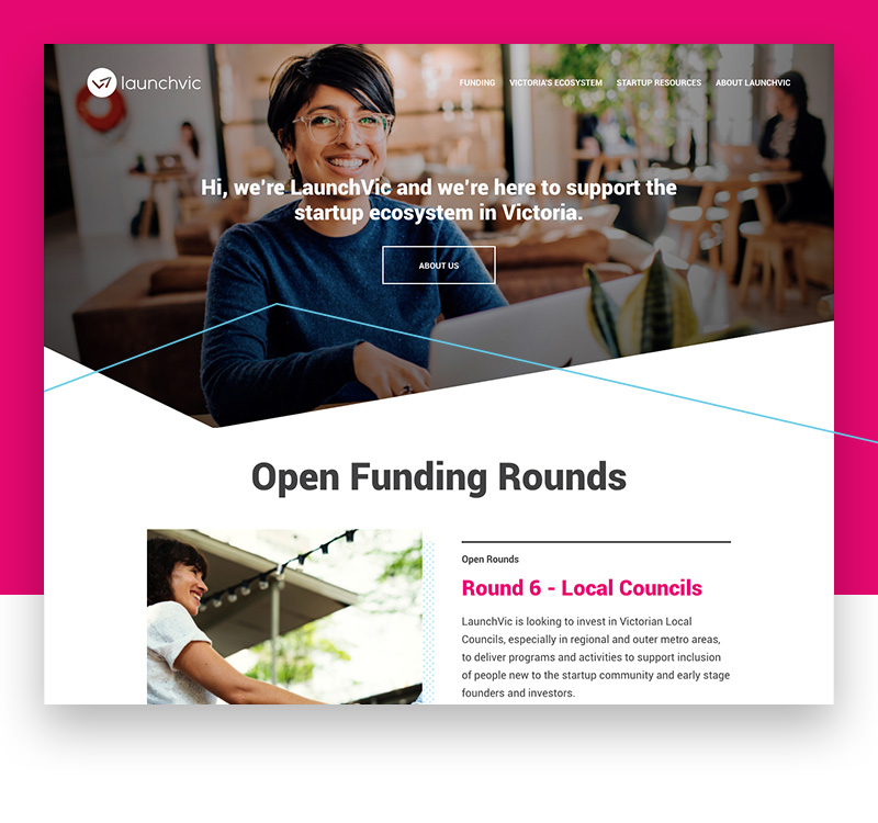 Easy to access funding information