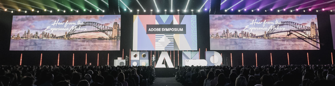 Innovative experiential design for Adobe APAC Experience Conferences