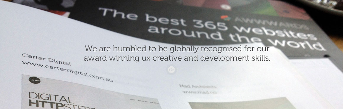 Award winning UX agency in Melbourne