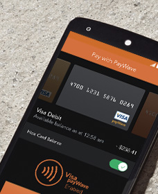 Payments with Visa Paywave Australia wide