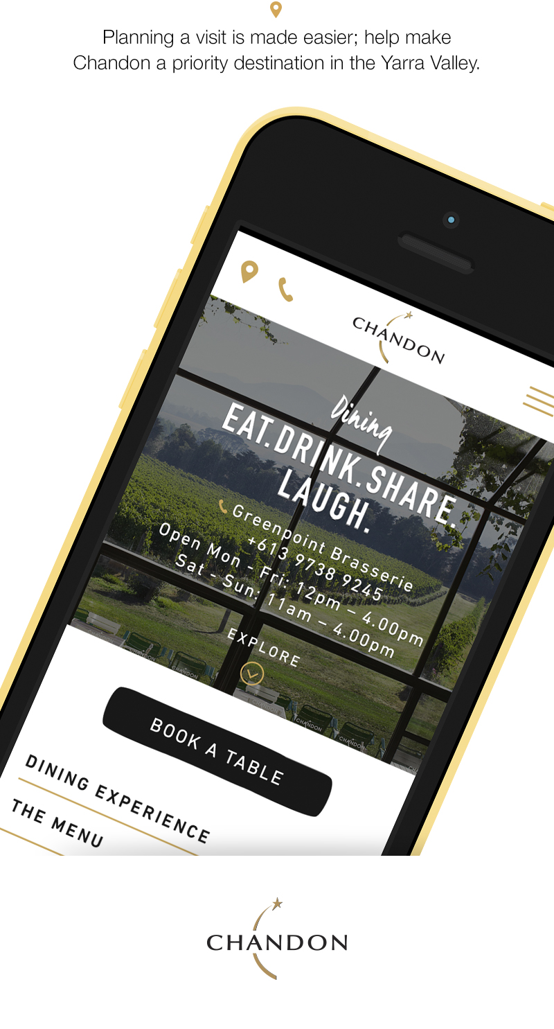 Planning a visit is made easier with location and mobile optimisation.