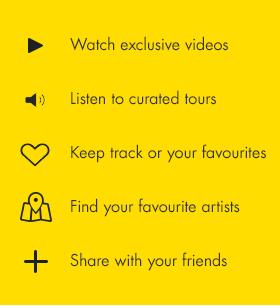 Melbourne Now App Features