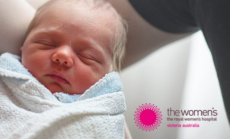 Responsive website design of the Royal Women's Hospital Melbourne