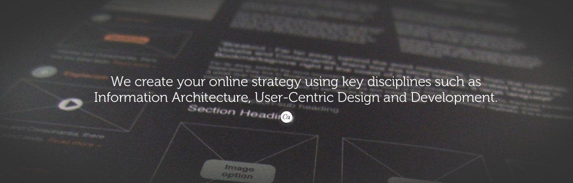 Think of creative user experience as ergonomics for your eyeballs.